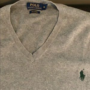 Polo V-neck Sweeter